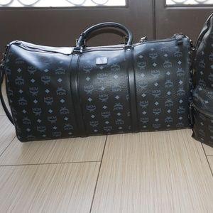 MCM Weekender Duffle Bag